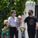 Jamie Bell and Kate Mara – Seen at neighborhood in Los Feliz