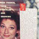 Valerie French - TV Guide Magazine Pictorial [United States] (27 September 1958) - 454 x 702
