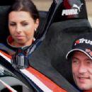 Jos Verstappen and Sophie Kumpen