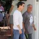 Tom Cruise grabs lunch with his lawyer in Malibu, CA (July 28)