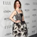 Actress Sarah Paulson arrives at ELLE's 21st Annual Women In Hollywood at Four Seasons Hotel Los Angeles at Beverly Hills on October 20, 2014 in Beverly Hills, California - 395 x 594