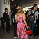 Paris Hilton – Arriving at LAX Airport - 454 x 681