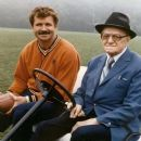 "Mike Ditka with ""Papa Bear"" George Halas"