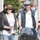 Alyson Hannigan & Alexis Denisof With Their Daughter Stroll Along Abbott Kinney Boulevard In Venice - May 22, 2010