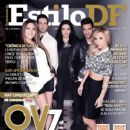 Oscar Schwebel, Ari Borovoy, Erika Zaba, Lidia Ávila, Mariana Ochoa, Ov7 - Estilo Df Magazine Cover [Mexico] (31 March 2014)