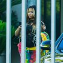 Nicki Minaj – Head to a photo shoot in West Hollywood