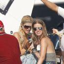 Paris Hilton's St. Tropez Champagne Shower