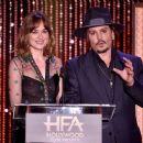 Dakota Johnson and Johnny Depp : 19th Annual Hollywood Film Awards