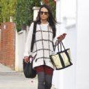 Jordana Brewster: out running errands in West Hollywood