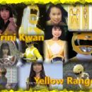 Thuy Trang as the Yellow Power Ranger in the Mighty Morphin Power Rangers