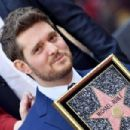 Michael Buble Honored With Star On The Hollywood Walk Of Fame - 454 x 303