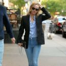 Amber Valletta – Leave the Greenwich Hotel in New York City - 454 x 681