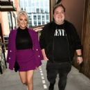 Katie McGlynn – Heads out celebrating her birthday at BLVD in Manchester - 454 x 599