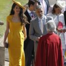 George Clooney and Amal Alamuddin :  Prince Harry Marries Ms. Meghan Markle - Windsor Castle - 400 x 600
