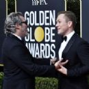 Jpaquin Phoenix and Taron Egerton At 77th Golden Globe Awards (2020) - 454 x 319