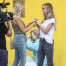 Audrina Patridge and Stephanie Pratt – Filming 'The Hills: New Beginnings' in Beverly Hills