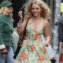 'The Carrie Diaries' Films in NYC