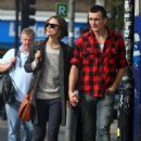 Keira Knightley & Rupert Friend Strolling Hand In Hand In East London - October 3, 2010 - 454 x 656