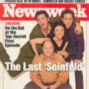 Jason Alexander, Julia Louis-Dreyfus, Jerry Seinfeld, Michael Richards - Newsweek Magazine Cover [United States] (April 1998)