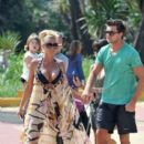 Kate Price and Leandro Penna at the Ocean Beach Club