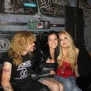 Steven Adler and Carolina with Athena Lee