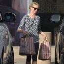Naomi Watts stops by Vicente Foods in Brentwood, California to stock up on groceries on January 7, 2015