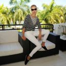Karolina Kurkova Lacoste Suite At Miami Open In Miami Beach