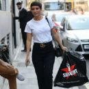 Frankie Bridge – Arriving at BUILD AOL TV Show in London - 454 x 638