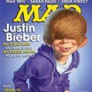 Justin Bieber MAD MAGAZINE Issue