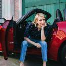 Emma Roberts – FIAT USA 2018 Campaign - 454 x 567