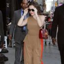 Alyssa Milano – Arrives at 'Good Morning America' in New York City