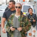 Justin Bieber was spotted out shopping in Beverly Hills, California on January 18, 2016