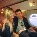 Seth MacFarlane and Trisha Cummings Travel Back to Los Angeles from the San Diego International Comic-Con, July 2011