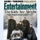 Kit Harington, Sophie Turner, Maisie Williams, Isaac Hempstead Wright - Entertainment Weekly Magazine Cover [United States] (31 May 2019)