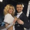Tony Dovolani and Marla Maples