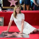 Allison Janney's newly unveiled Star at her Hollywood Walk of Fame star ceremony on October 17, 2016 in Hollywood, California - 454 x 292