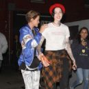 Ruby Rose – Leaving the Cafe Hotel in Hollywood