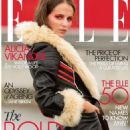 Alicia Vikander - Elle Magazine Cover [United Kingdom] (October 2020)
