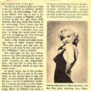 What`s Happening to Marilyn? ( Monroe) - Movie Spotlight Magazine Pictorial [United States] (December 1954)