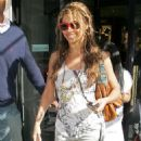 Beyonce Knowles Leaving Harvey Nichols In London, 2009-05-26