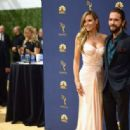 Tom Kaulitz and Heidi Klum : 70th Emmy Awards - 454 x 316