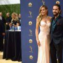 Tom Kaulitz and Heidi Klum : 70th Emmy Awards - 454 x 316