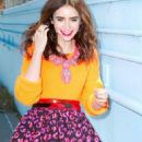 Lily Collins: Sassy For Seventeen September 2013