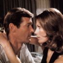 Maud Adams and Roger Moore - 454 x 362