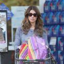 Ashley Greene Shopping At Bristol Farms In Beverly Hills