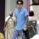John Mayer Walking Around Soho On A Very Warm Day