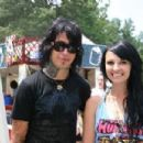 Ronnie Radke and Emily Ellis