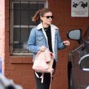 Kate Mara – Leaves her dance class in Beverly Hills - 454 x 681