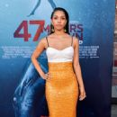 Corinne Foxx – '47 Meters Down Uncaged' premiere photocall in Westwood