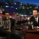 Chadwick Boseman on Jimmy Kimmel Live! (October 2017) - 454 x 303